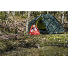 Nordisk Knuth Makuupussi 160-190cm Lapset, burnt red